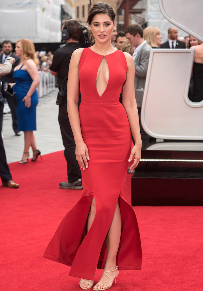 Nargis Fakhri Stunned In Red At Spy Premiere - uInterview