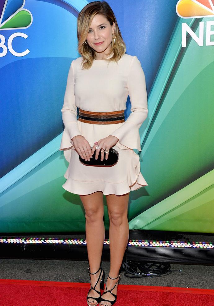 Sophia Bush Looks Stylish At NBC Upfronts