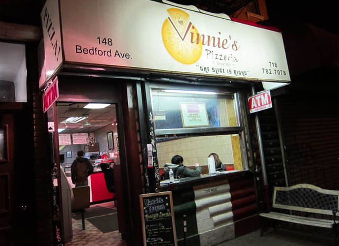 Vinnie's Pizza On Pizza Tries To Answer Question: Can You Ever Have Too Much?