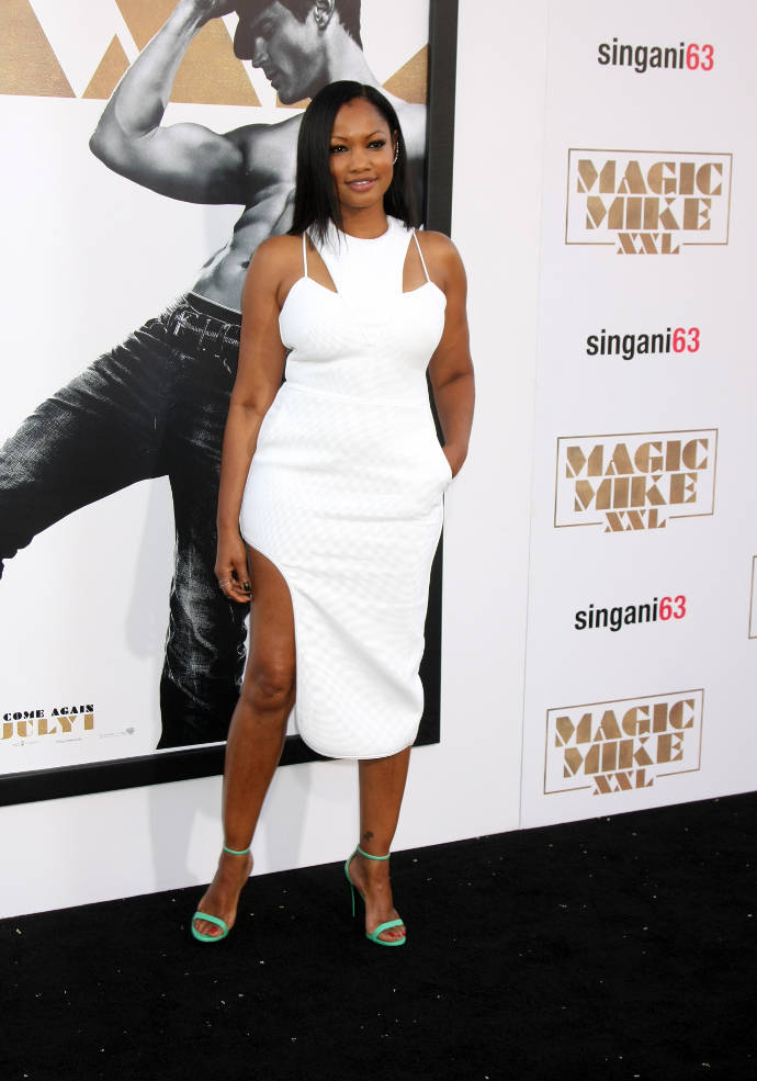 Get The Look Garcelle Beauvais Revealing White Dress