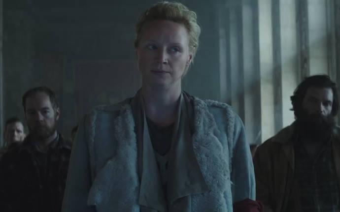 Gwendoline Christie in Mockingjay – Part 2