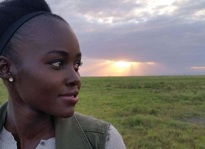 Lupita N'yongo Goes Home To Kenya To Save Elephants