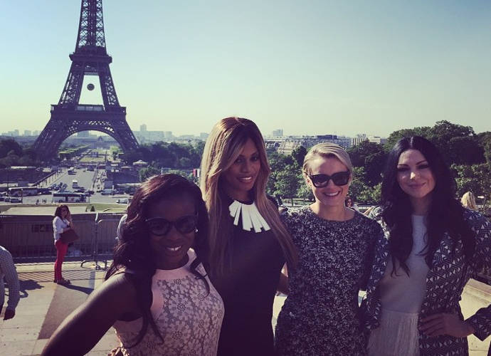 'Orange Is The New Black' Gang Sightsees In Paris