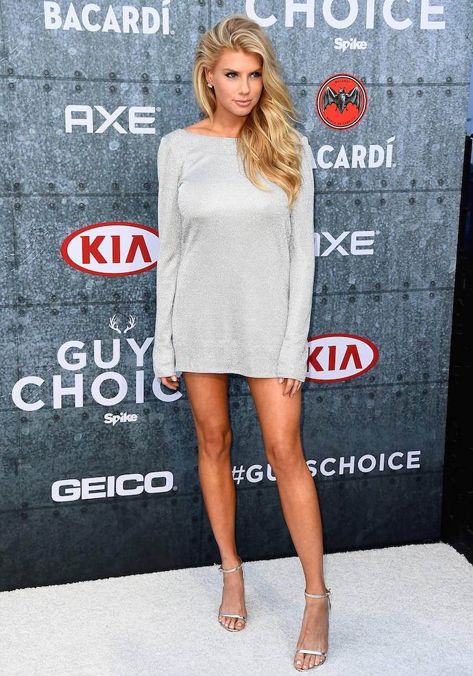 Charlotte Mckinney Suffers Wardrobe Malfunction Accidently