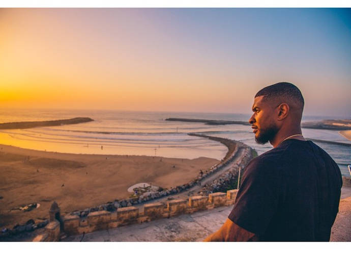 Usher Explores Morocco's Local Culture
