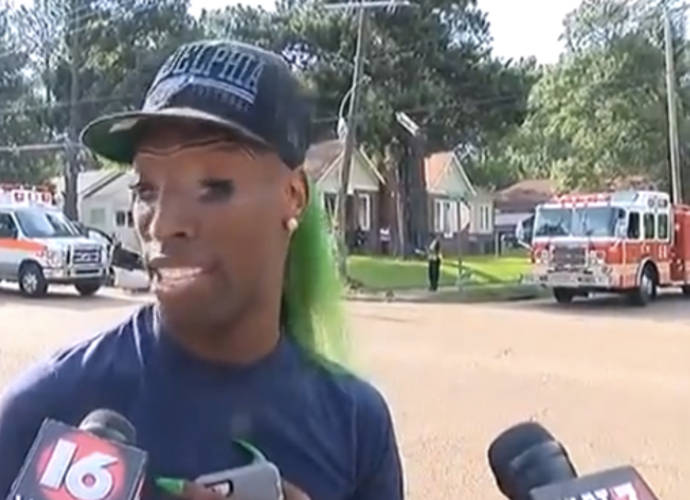 Courtney Barnes Is The Green-Haired Witness In Hilarious Viral News Interview