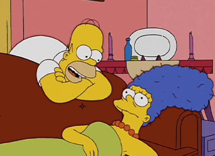 Pic Homer Simpson Marge Simpson The Simpsons