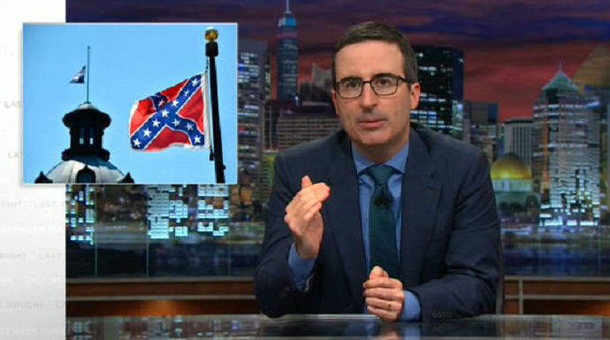John Oliver Offers Suggestions On What To Do With Confederate Flag