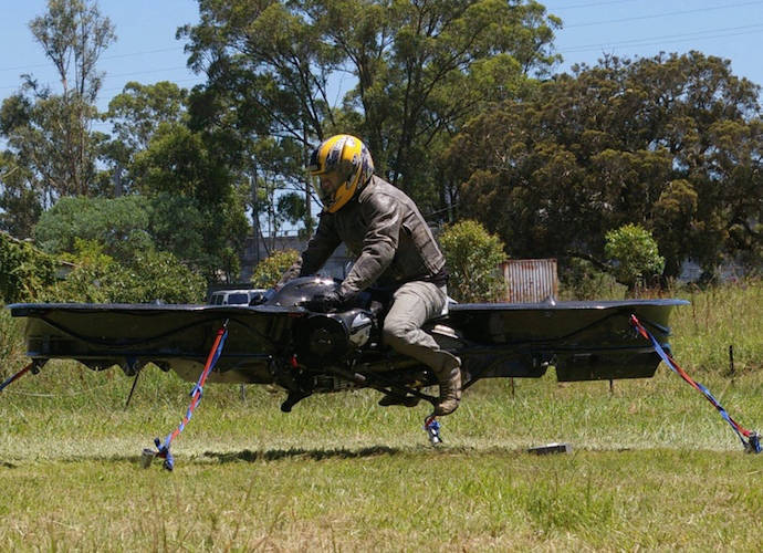 U.S. Army Makes Deal To Develop Hoverbikes With Malloy Aeronautics