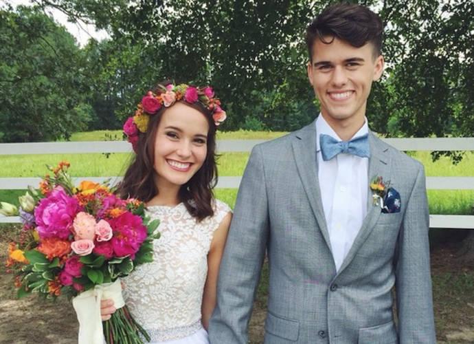 John Luke Robertson And Mary Kate McEacharn Marry In 'Duck Dynasty' Family Wedding