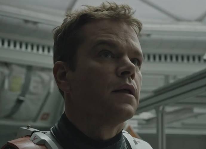 'The Martian' First Trailer Released; Matt Damon Debuts As Astronaut Mark Watney