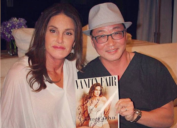 Caitlyn Jenner Thanks Plastic Surgeon Harrison Lee, Gives Him Signed Copy Of 'Vanity Fair'