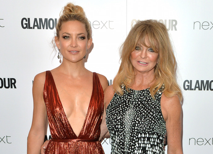 Kate Hudson & Goldie Hawn Attend Glamour Women Of The Year Awards