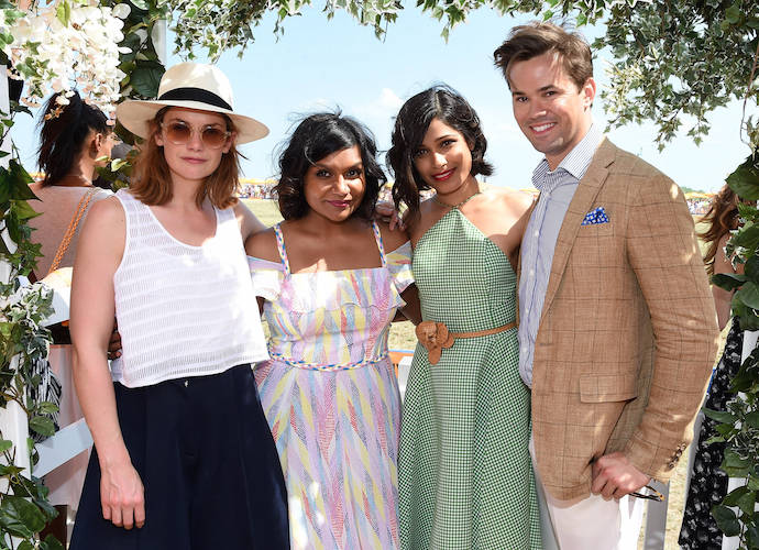 Ruth Wilson, Mindy Kaling, Freida Pinto & Andrew Rannells Attend Veuve Clicquot Polo Classic