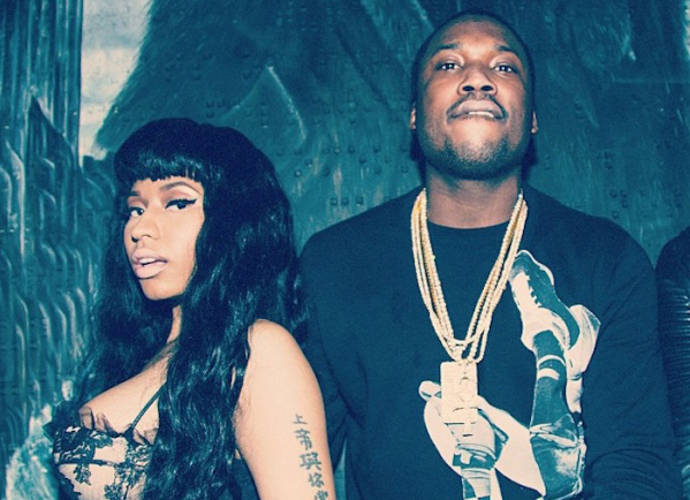 Nicki Minaj And Meek Mill Once Again Spark Engagement Rumors With Instagram Photo Of Giant Ring