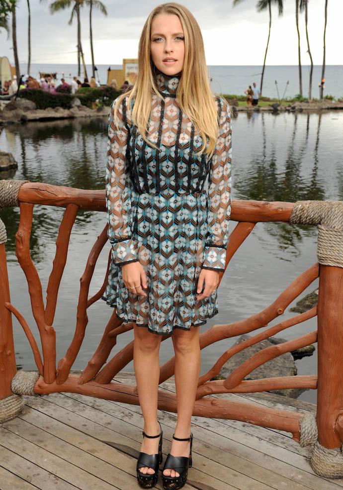 Teresa Palmer Wears Miu Miu To Maui Film Festival