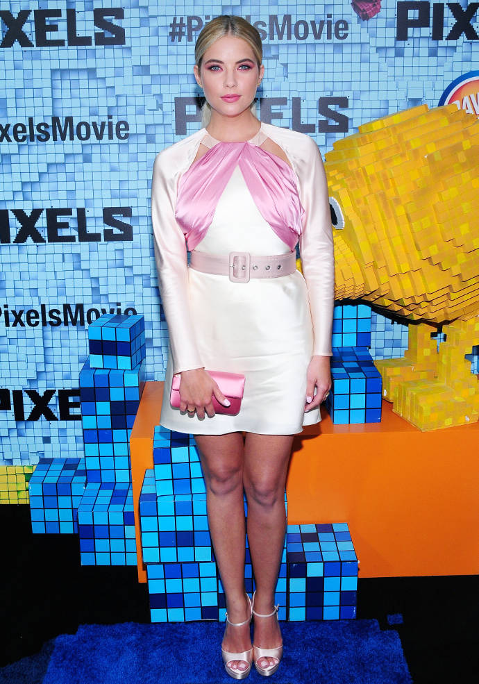 Get The Look: Ashley Benson's Pretty In Pink Look