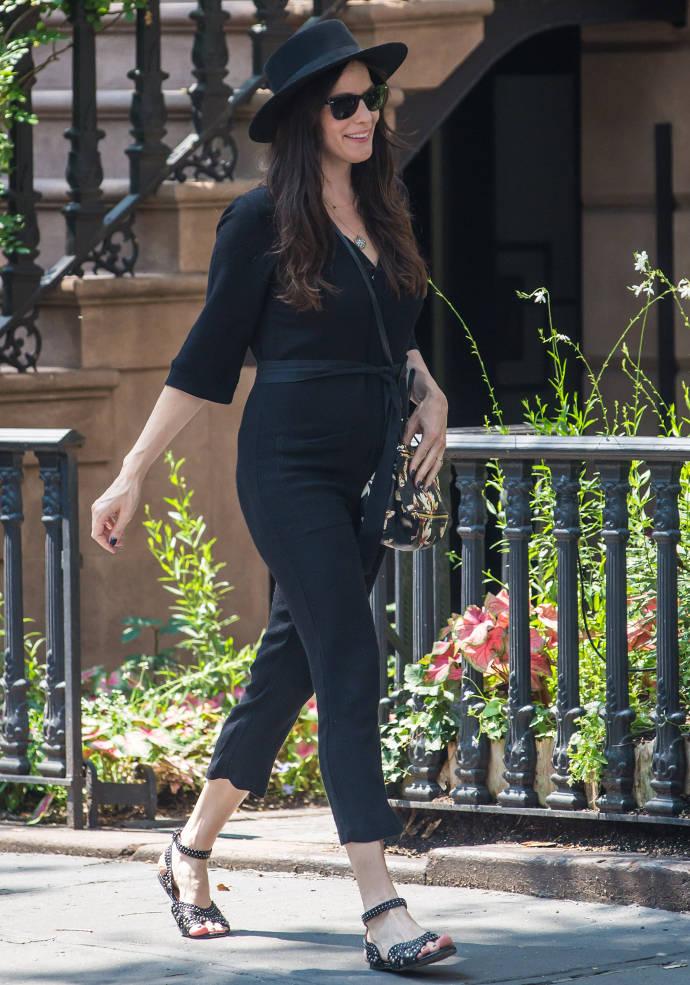 Get The Look: Liv Tyler's Black Birthday Suit