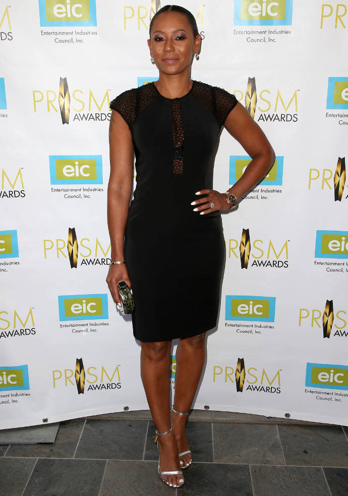Get The Look: Mel B's Chic LBD For Prism Awards