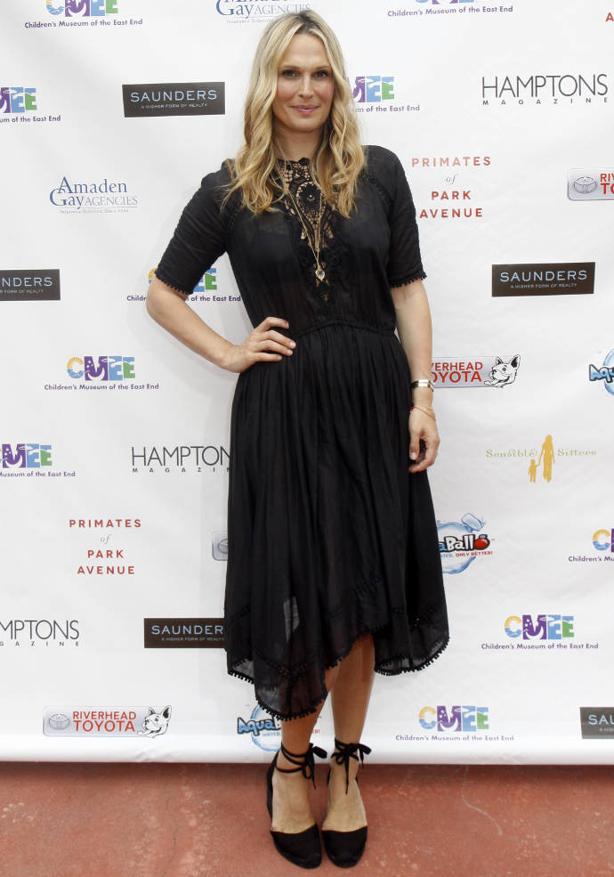 Get The Look: Molly Sims' Black Sundress