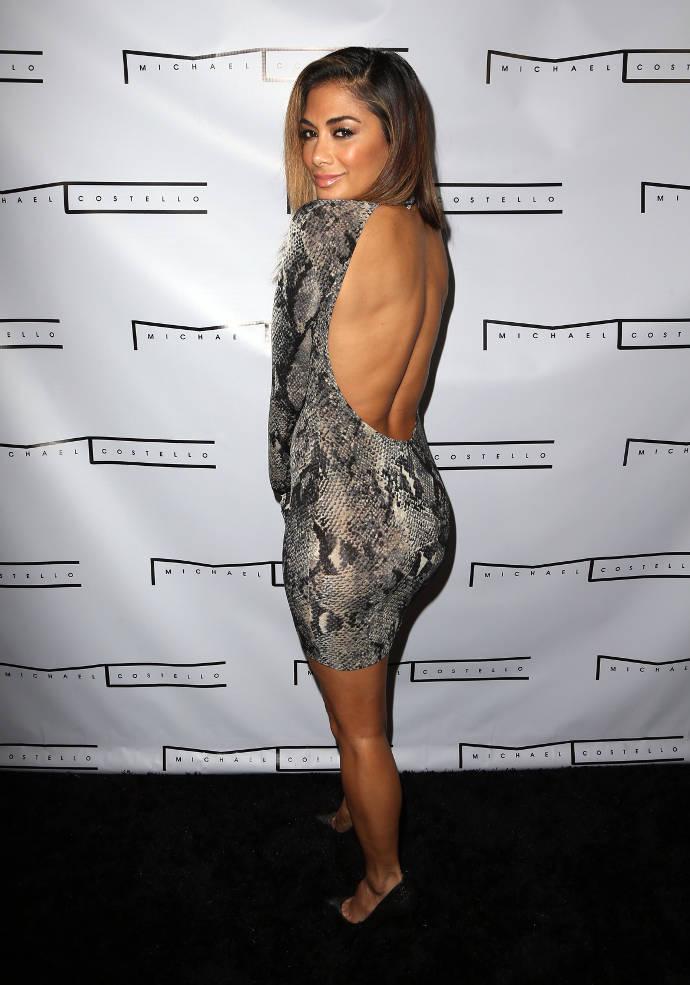 Get The Look For Less: Nicole Scherzinger's Stylish Snakeskin Mini