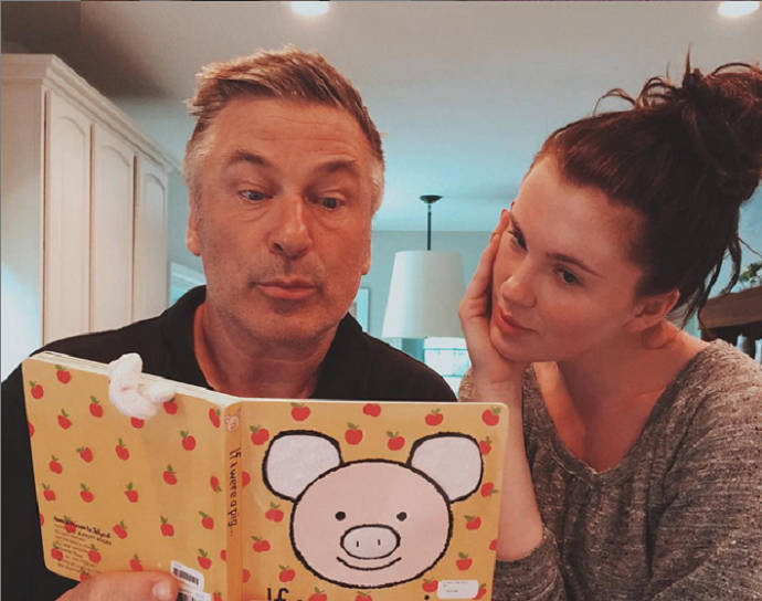 Alec and Ireland Baldwin Mock The Infamous 'Thoughtless Little Pig' Voicemail