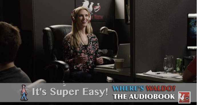 Rooster Teeth's Hilarious 'Where's Waldo?' Audiobook Promo Goes Viral
