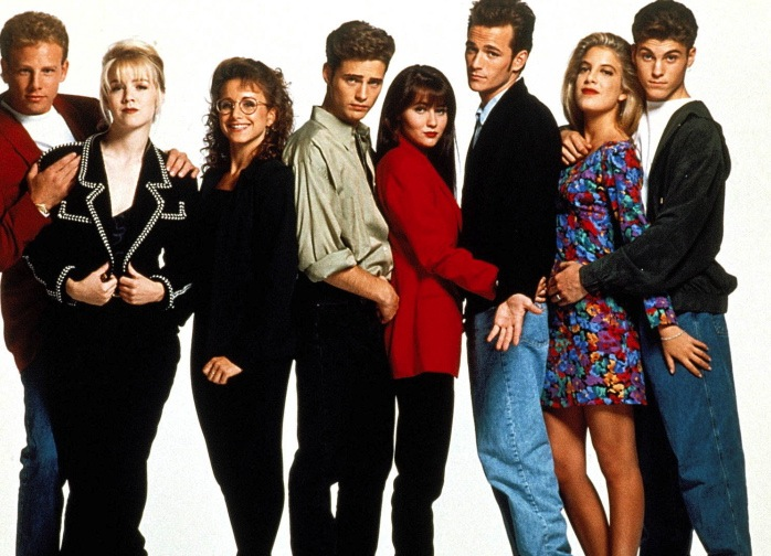 Lifetime Reveals 'The Unauthorized Beverly Hills, 90210 Story' Cast Photo