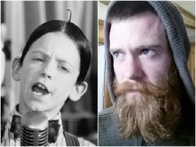 Bug Hall, The Little Rascals' Alfalfa, Is Now A Bearded Man