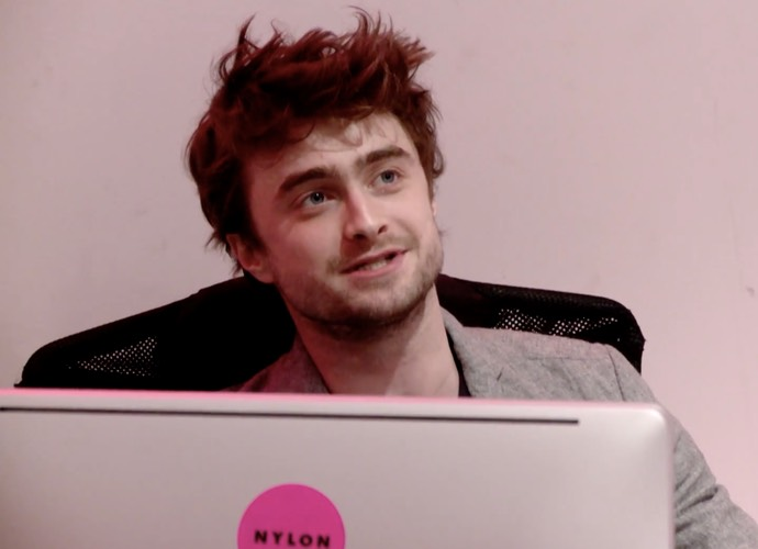 Daniel Radcliffe Becomes Nylon's Receptionist For An Hour, Surprises Employees