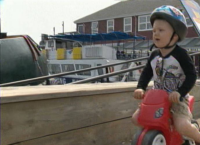 Toddler Declan Tramley Has Adorable Reaction To Getting First Parking Ticket