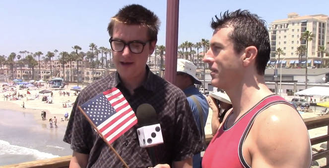 Mark Dice's  'Americans Don't Know Why We Celebrate Fourth of July' Goes Viral