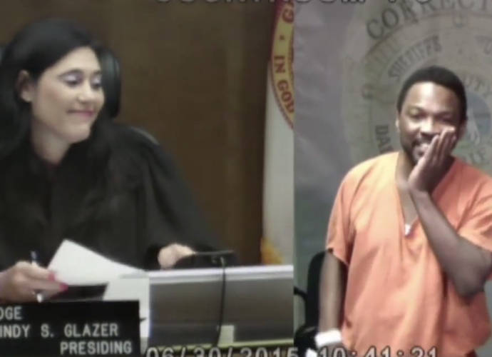 Judge Reunites With Middle School Classmate In Bond Court, See The Emotional Video