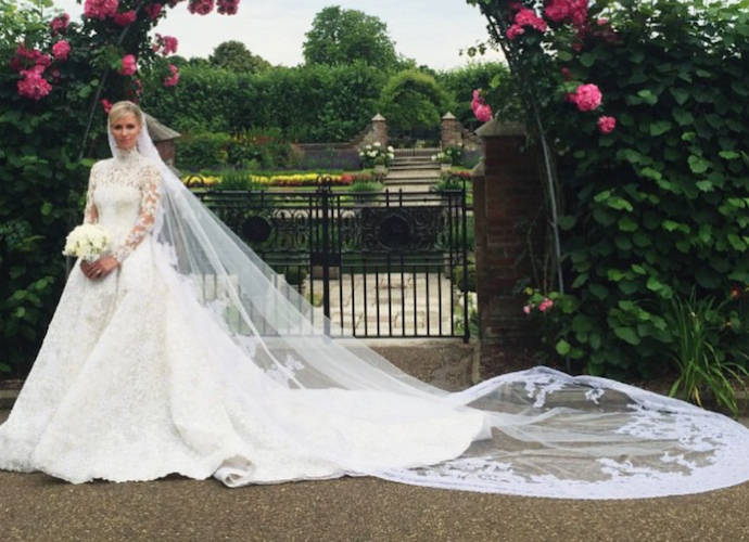 Nicky Hilton Stuns In Valentino Haute Couture To Wed James Rothschild
