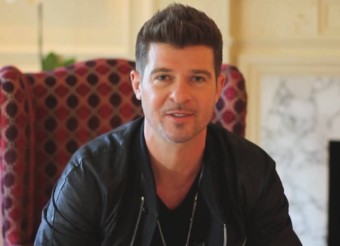 Robin Thicke And Paula Patton Attend Therapy Session With Their Only Child Julian