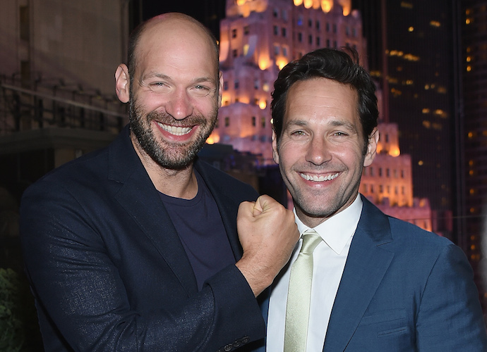 Corey Stoll And Paul Rudd Attend 'Ant-Man' Screening After Party