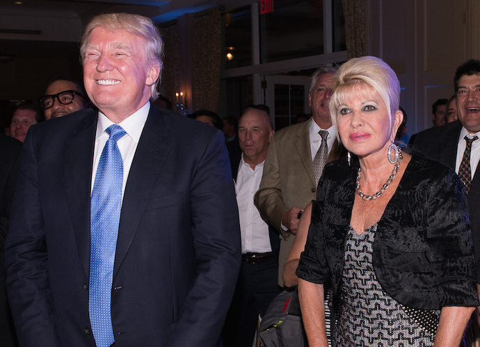 Ivana Trump, Donald Trump's Ex, To Write Memoir About Motherhood