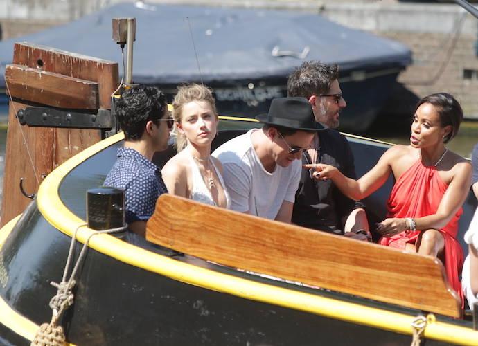 'Magic Mike XXL' Costars Take A Boat Ride In Amsterdam