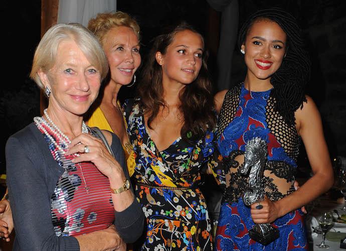 Helen Mirren, Trudie Styler, Alicia Vikander & Nathalie Emmanuel Attend Ischia Global Fest Gala