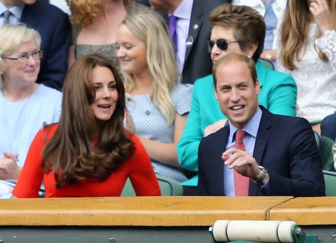 Kate Middleton And Prince William Cheer On Andy Murray At Wimbledon