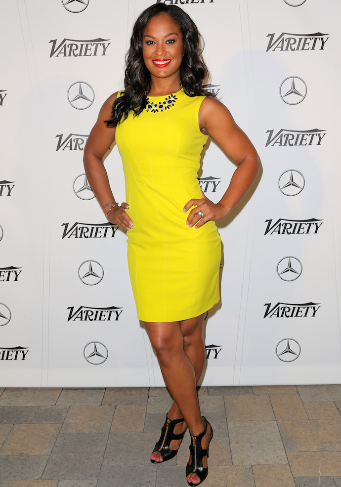 Laila Ali Wows In Yellow At Variety S Sports Entertainment