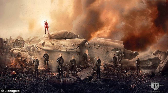 Hunger Games Fans Have To Work To See Latest 'Mockingjay – Part 2' Poster