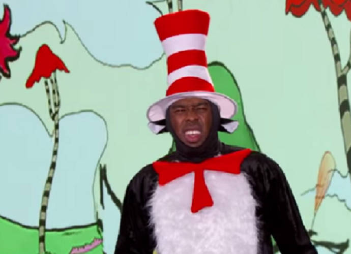 Tyler, The Creator Raps To New Dr. Seuss Book, 'What Pet Should I Get' On 'Jimmy Kimmel Live'