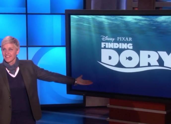 Ellen DeGeneres Reveals New 'Finding Dory' Characters At Disney's D23 Expo