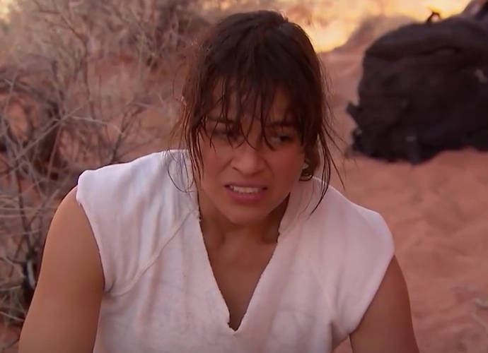 Michelle Rodriguez Eats A Mouse Boiled In Her Own Urine To Survive On 'Running Wild With Bear Grylls'