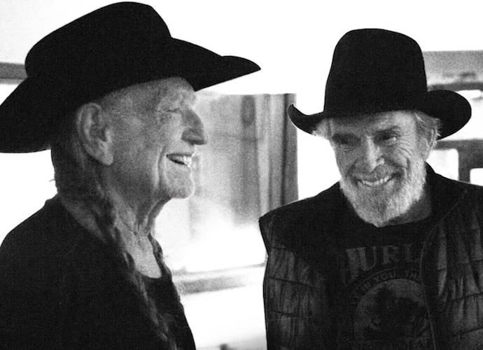 Willie Nelson And Merle Haggard Hit The Road For 'Django And Jimmie' Tour