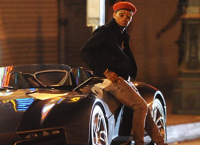 Chris Brown Films 'Liquor' Music Video