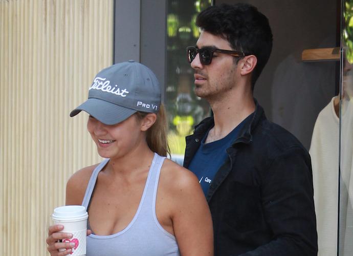 Gigi Hadid And Joe Jonas Grab Coffee In L.A.
