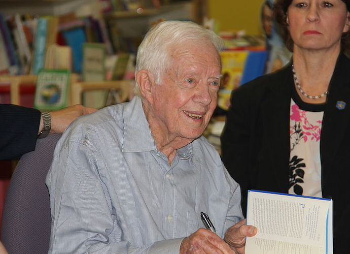 Jimmy Carter Is Cancer Free, Stopping Treatments
