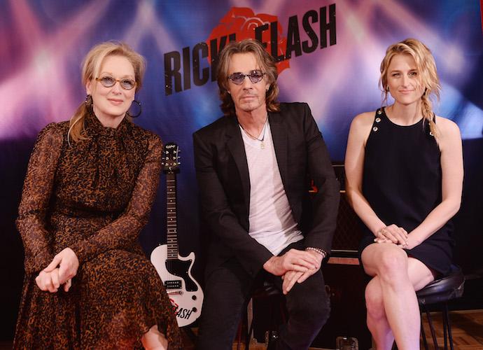 Meryl Streep, Rick Springfield & Mamie Gummer Promote 'Ricki And The Flash'
